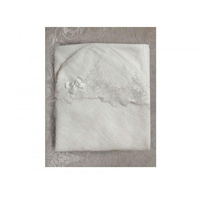 Пеленка-уголок махровая нарядная Византия, экрю 124.39