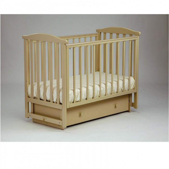 Детская кроватка поперечный маятник Лютик