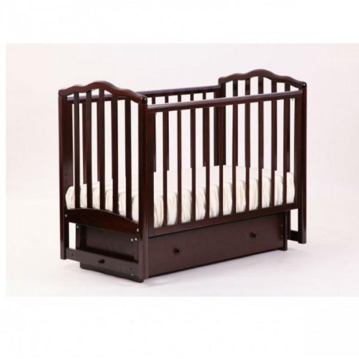 Детская кроватка маятник поперечный Жасмин Лель