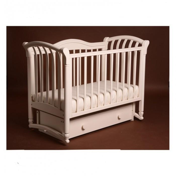 Кроватка детская Азалия маятник поперечный Лель