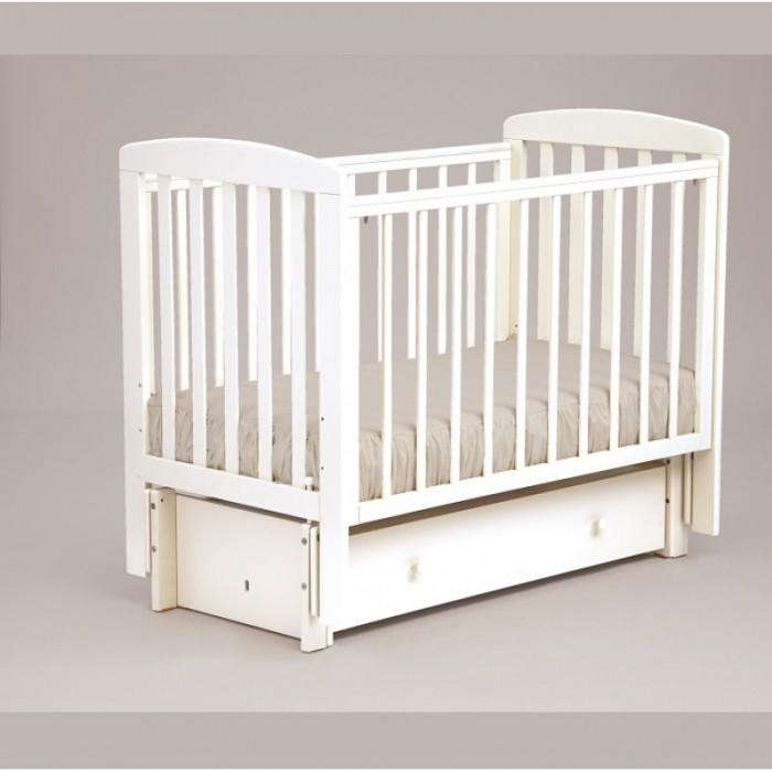 Детская кроватка универсальный маятник АБ 16 Ромашка