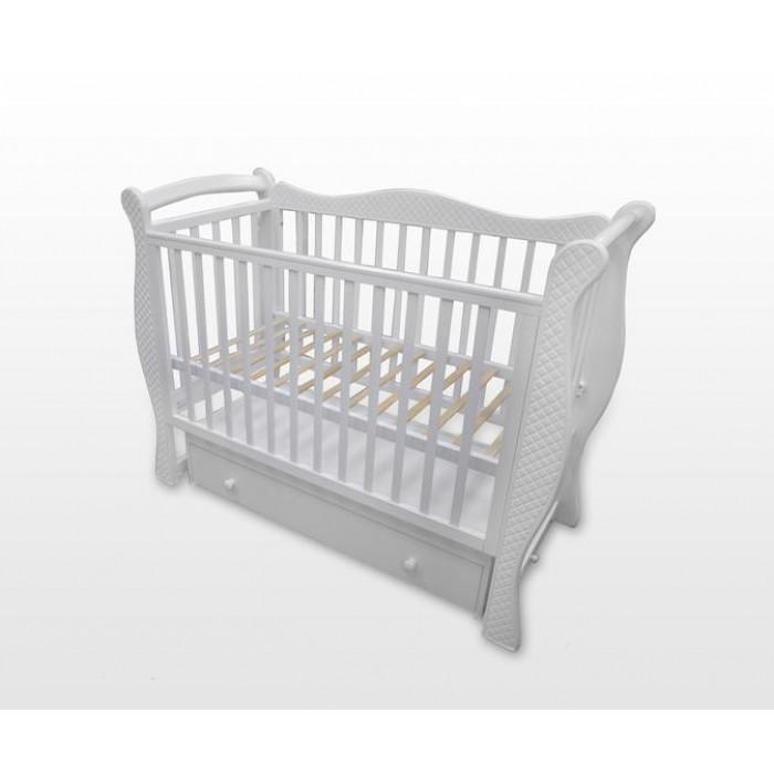 Детская кроватка Baby Luce Лучик-ромбик