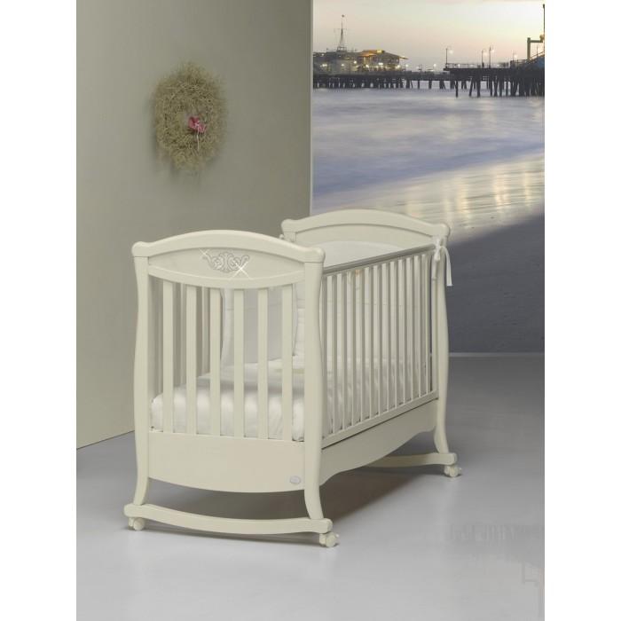 Детская кроватка Bambolina Principessa Cristallo 125x65