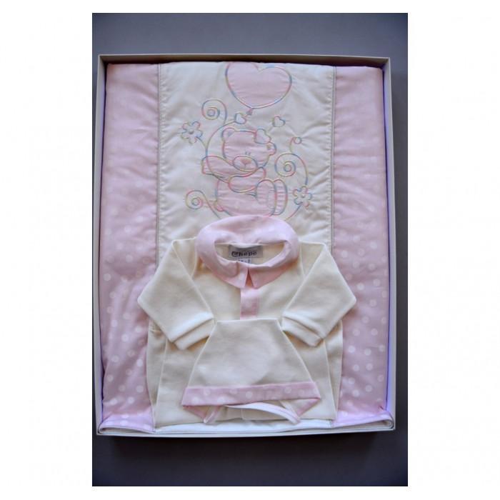 Комплект на выписку Мусилена с пледом (3 изделия)