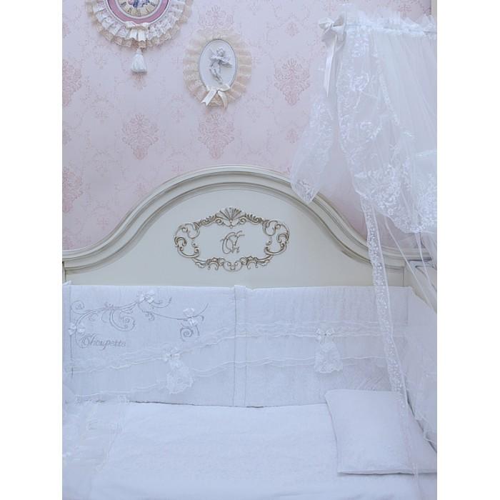 Комплект в кроватку 6 предметов Серебряный век 100.38 для девочки