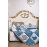 Одеяло стеганное с аппликацией 150.1.07