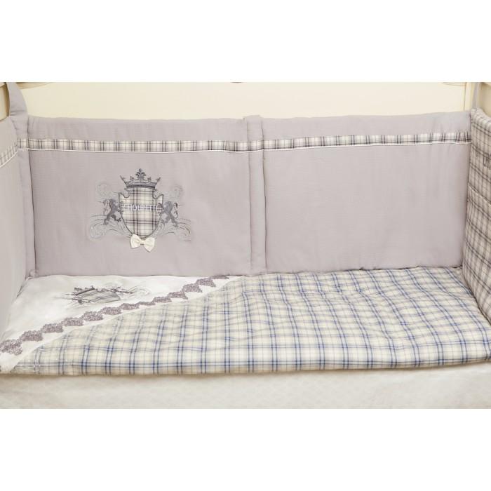 Комплект в кроватку 6 предметов Де-люкс Византия для мальчика 100.1.39