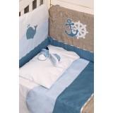 Комплект в кроватку с аппликацией 4 предмета 100.1.07
