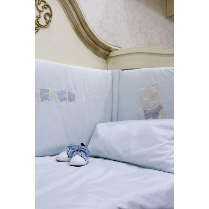 Комплект в кроватку с аппликацией 6 предметов 151.38