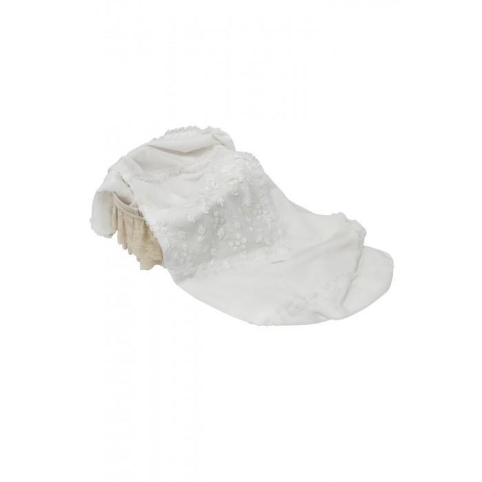 Пеленка-плед с ажурным декором 168.43