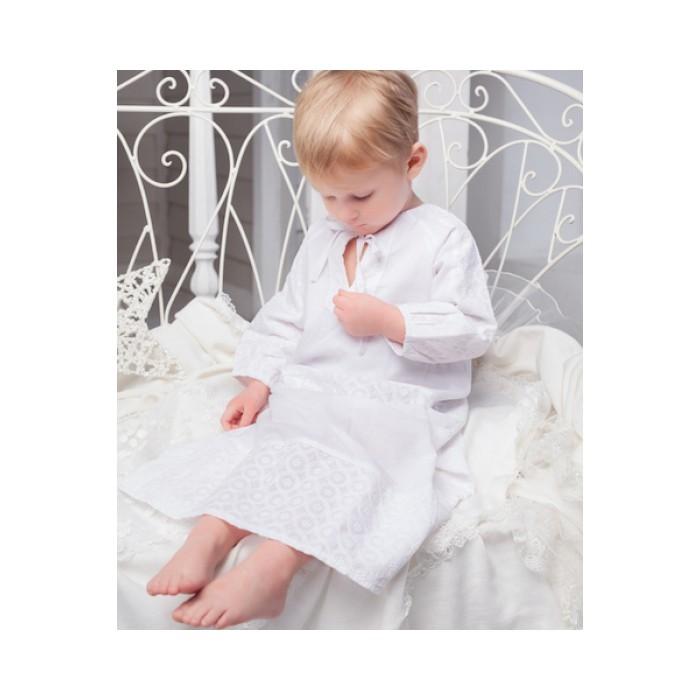 Крестильная сорочка белая Церемония 96.1.43