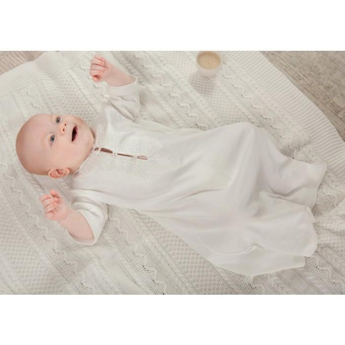 Крестильная сорочка для мальчика 245.43