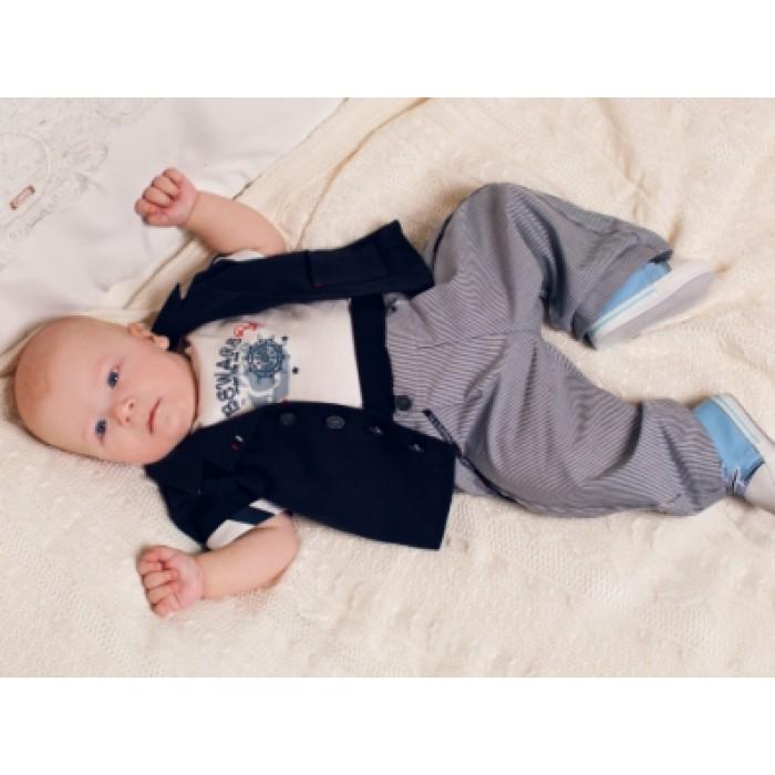 Одежда до годика для мальчика в морском стиле 208.43