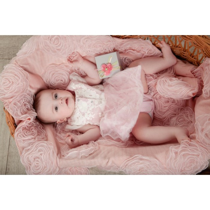 Боди детское с пышной юбкой Фламинго 28.50
