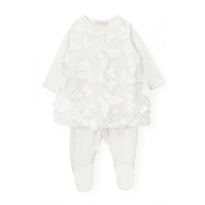 Платье с бабочками в комплекте с комбинезоном 421.43
