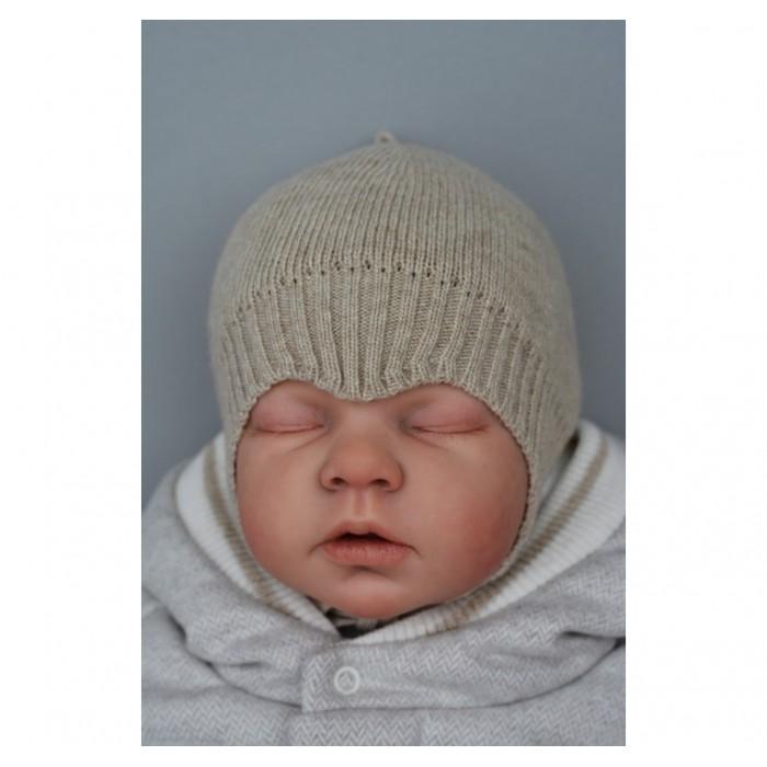 Nuvola – шапочка с мысиком вязаная
