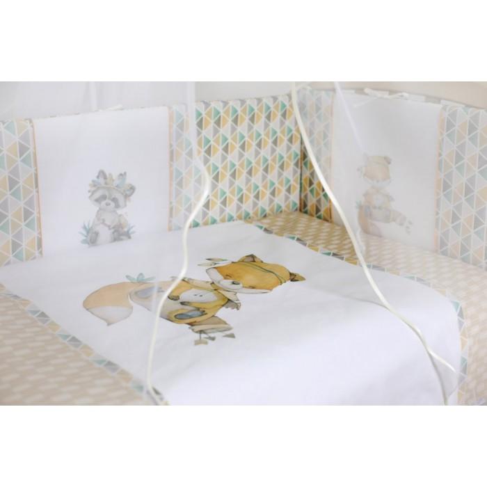 Комплект в кроватку 6 предметов Играем весело арт.6091