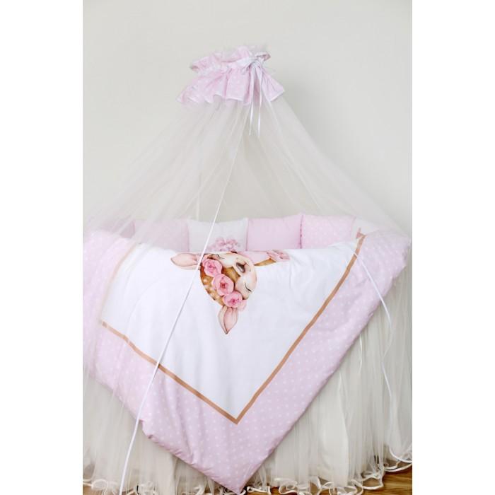 Комплект в кроватку 6 предметов Балерина арт. 6068
