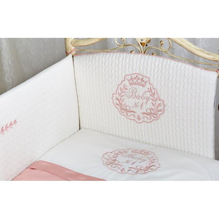 Комплект в кроватку 6 предметов Lappetti Беби №1