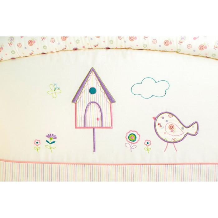 Комплект в кроватку 6 предметов Lappetti Домик для птички