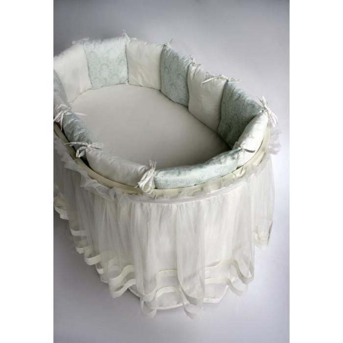 Комплект 11 предметов Эстель в круглую кроватку