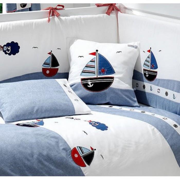 Комплект в кроватку Funnababy Marine 120x60