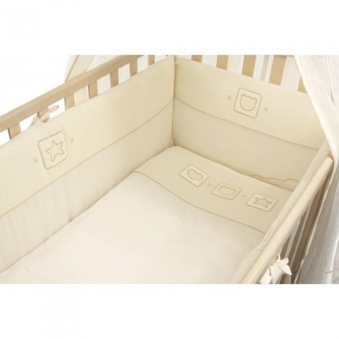 Комплект в кроватку 5 предметов Funnababy Trio 120x60