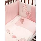 Комплект в кроватку 5 предметов FunnaBaby Daisy 120х60