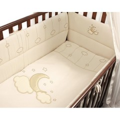 Комплект в кроватку 5 предметов FunnaBaby Luna Elegant 120х60