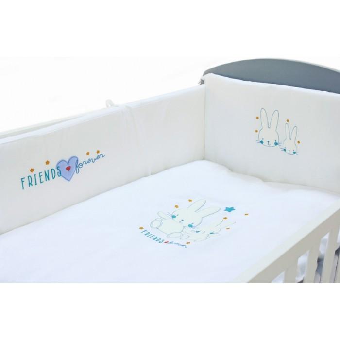 Комплект в кроватку Fiorellino Friends Forever 120x60