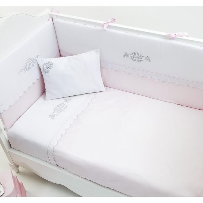 Комплект в кроватку 5 предметов Fiorellino Princess 120x60