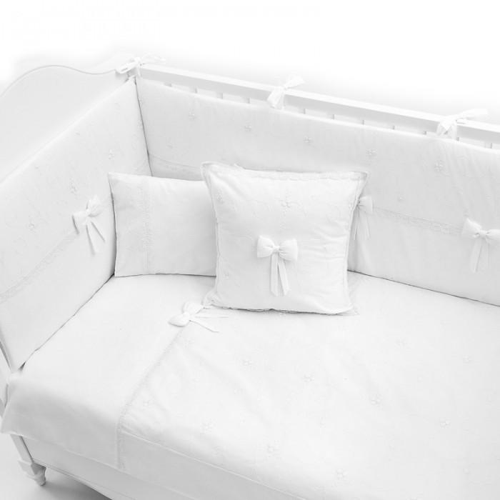 Комплект в кроватку  Funnababy Premium Baby White 120x60