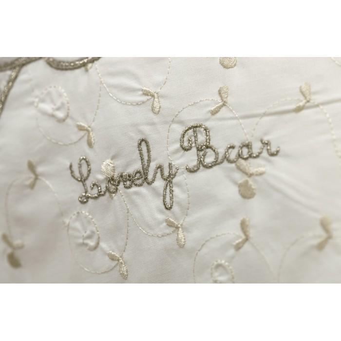 Постельное белье 3 предмета Lovely Bear cream
