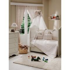 Комплект в кроватку 5 предметов Funnababy My Bear 125х65
