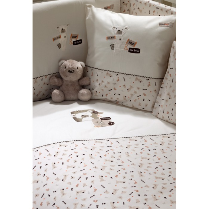 Комплект в кроватку Funnababy My Bear 125х65