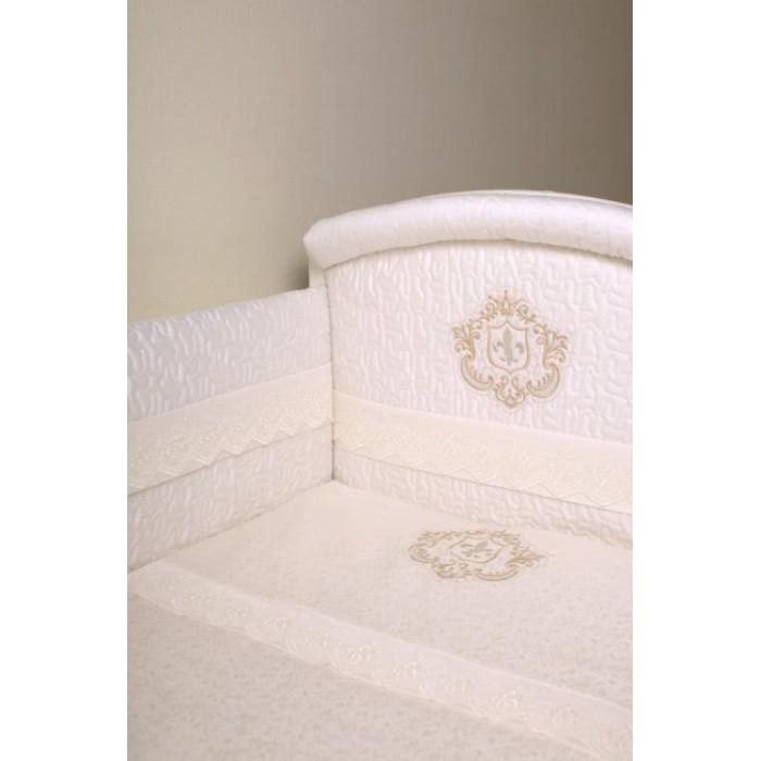 Комплект в кроватку 6 предметов Lappetti Инфанты 6002