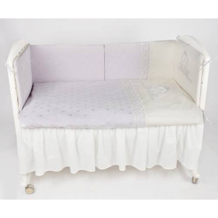 Комплект в кроватку 6 предметов Lappetti Карета