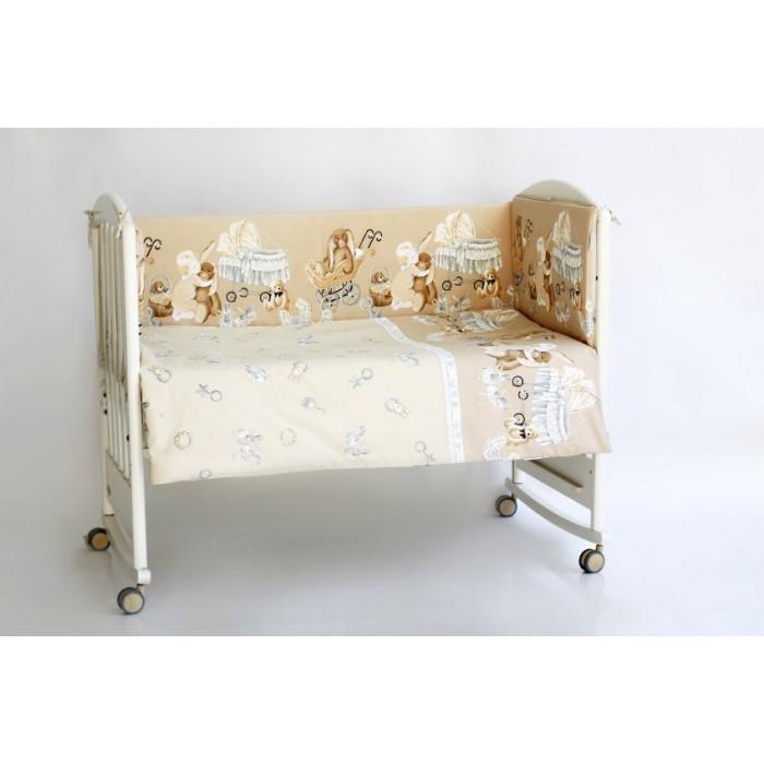 Комплект в кроватку 6 предметов Lappetti Колыбельная