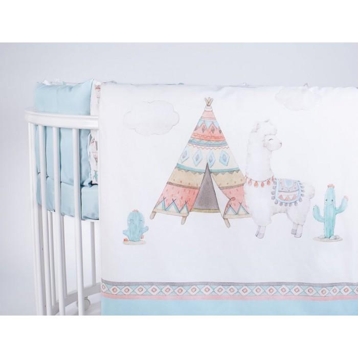 Комплект в кроватку 6 предметов Ламы арт.6089