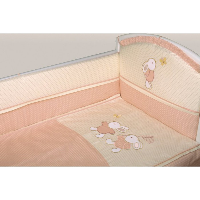 Комплект в кроватку 6 предметов Lappetti Летняя история