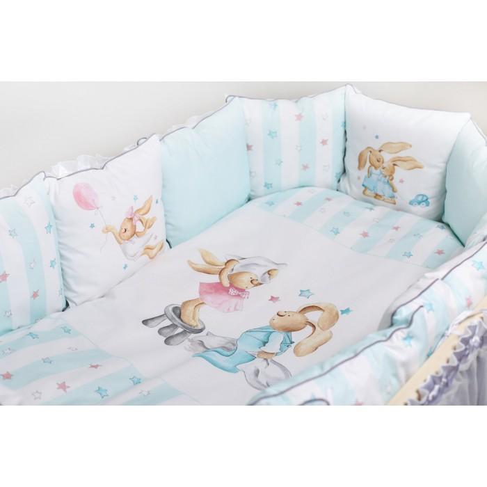 Комплект в кроватку 6 предметов Луисы