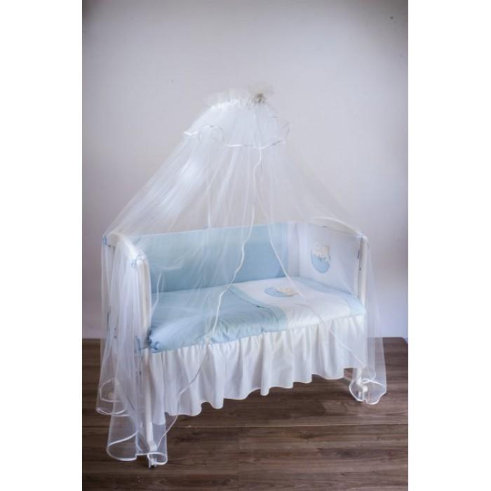 Комплект в кроватку 6 предметов Мишкина семейка 6041