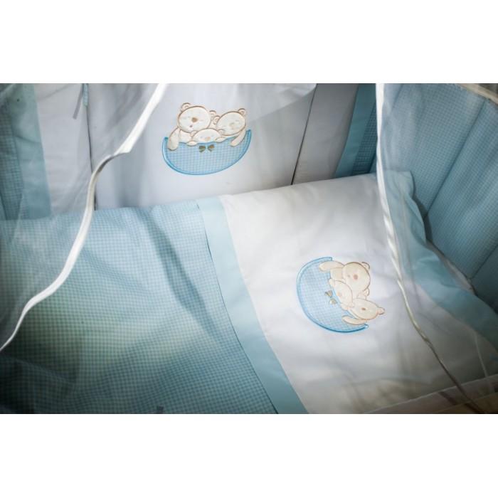 Комплект в кроватку Мишкина семейка 6042