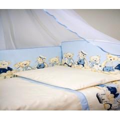 Комплект в кроватку 6 предметов Lappetti Морячки