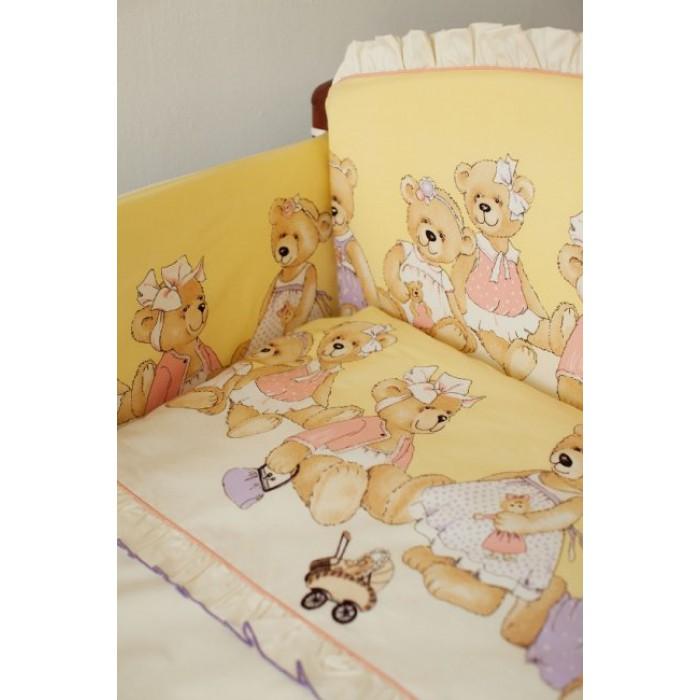 Комплект в кроватку 6 предметов  В ожидании праздника