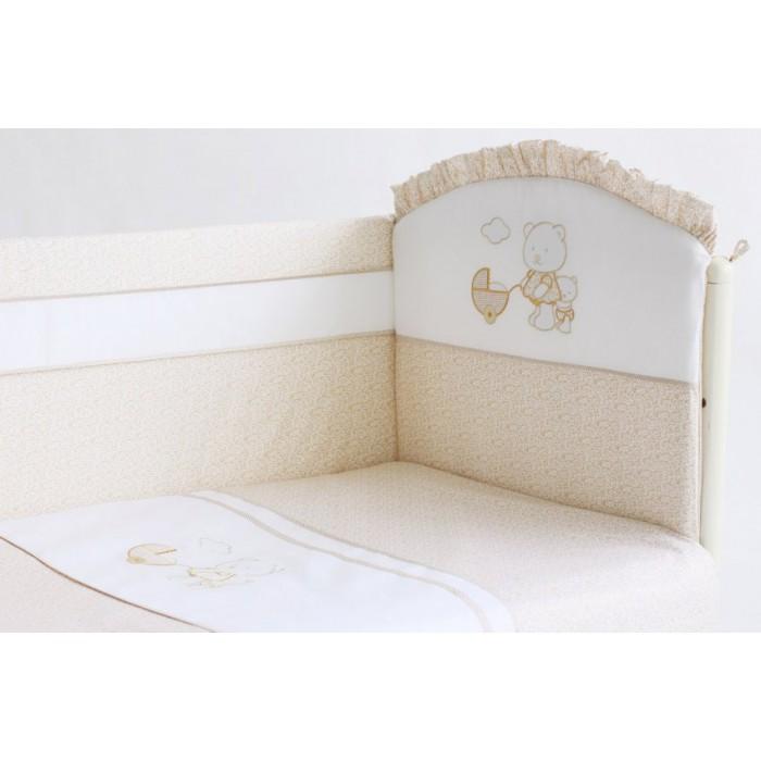 Комплект в кроватку 6 предметов Lappetti Прогулка