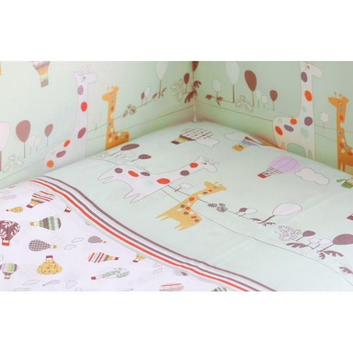 Бортик для кроватки Rabby-baby Лимпопо
