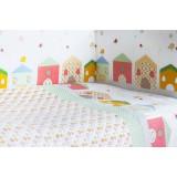 Комплект в кроватку Rabby-baby Домики