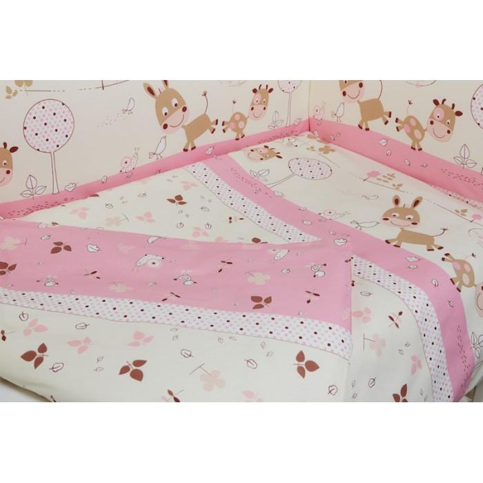 Комплект в кроватку  Rabby-baby Лето в деревне