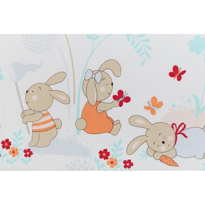 Постельное белье 3 предмета Rabby-baby На лужайке